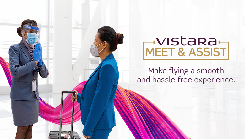 Vistara Meet and Assist