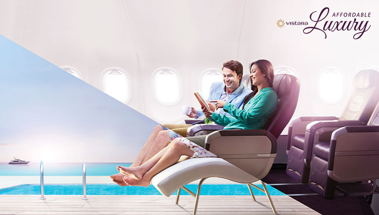 Vistara Affordable Luxury - Vistara