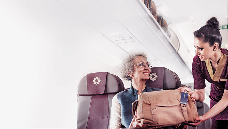 Vistara Senior Citizen Discount - Vistara